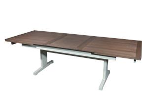 table arpège avec allonge automatique en Chêne. Oak table with automatic extension