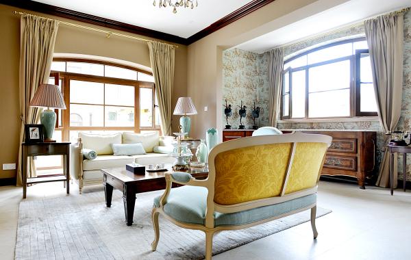 Belle villa en Chine