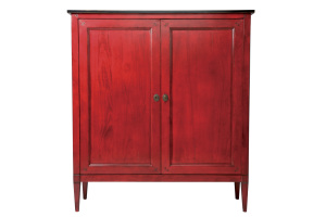 Armoire 2 portes Rouge- 2 doors Red cabinet