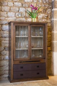 meuble de métier vitrine- meuble d'atelier- industrial display cabinet