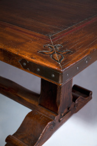 table prieure- solid oak country style table