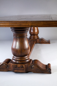 Chambord table customizable in oak - sur mesure en chêne
