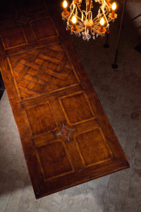 Versailles parquet table