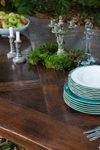 table dessus parqueté- parquet top table