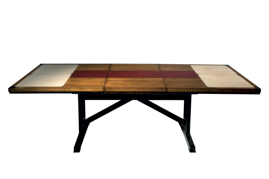 Table Loft pied bistrot- Loft table with bistrot base