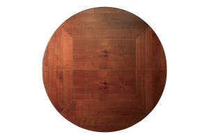 Table ronde classique en merisier- Classical round table in Cherry wood