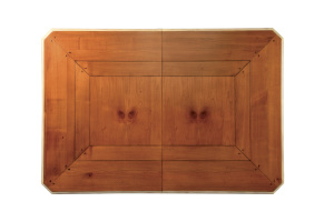 Table rectangulaire classique en merisier- Classical rectangular table in Cherry wood