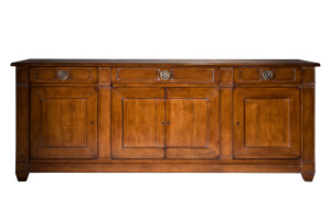buffet 4 portes merisier. Cherry 4 doors sideboard