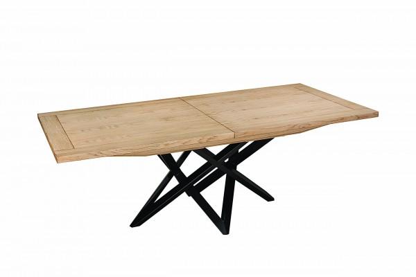 2454 Table Carbone dessus bois