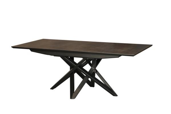 2444 Table rectangulaire CARBONE céramique